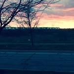 Evening Falls: Exurbia, December